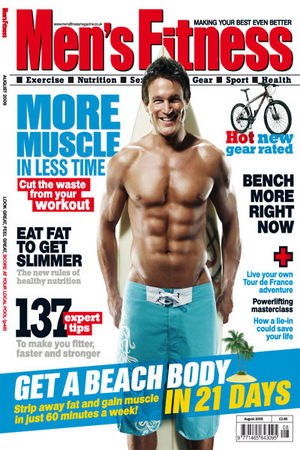 Men's Fitness Magazine- $3.50!