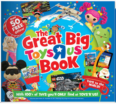 Toys R Us Catalog is HERE!!!!