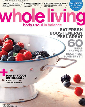 Whole Living Magazine for $3.50!!!!