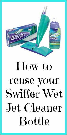 Swiffer Wet Jet Recycle