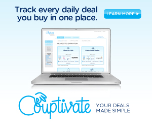 Couptivate- Keep Track of Your Daily Deals in One Place!