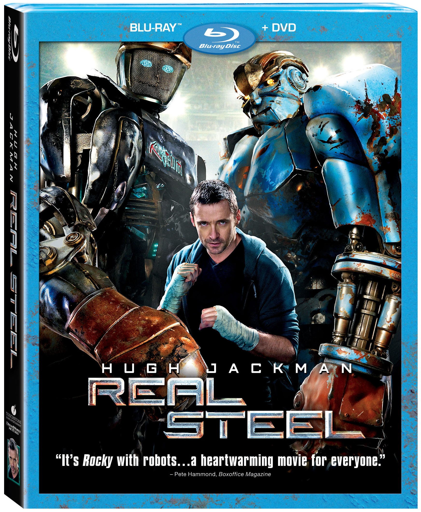 Real Steel Preview Meet the Bots