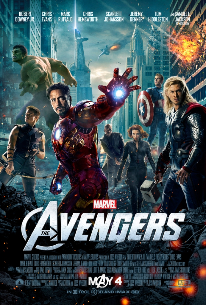 Avengers iTunes Trailer is HERE!!!
