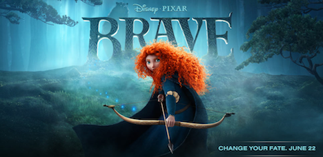 Brave Out in Theaters on June 22nd!!