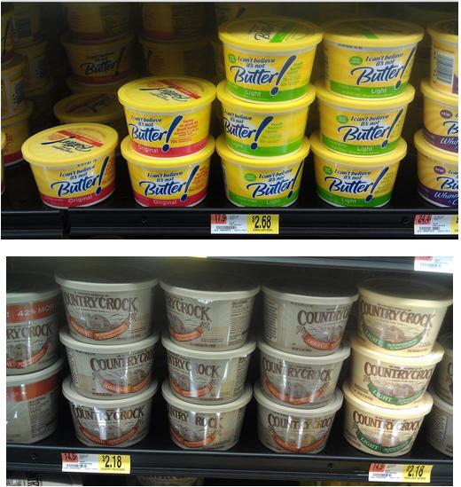 I Can't Believe It's Not Butter & Country Crock Coupons + Walmart Scenarios!