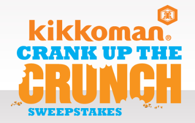 Kikkoman Crank Up The Crunch $10,000 Sweepstakes & Instant Win Game!!
