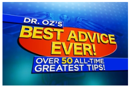 Hurry Dr Oz Giveaway Starts At Noon Over 15 000 Prizes