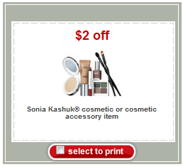 Free Sonia Kushak Make-up Brush at Target!