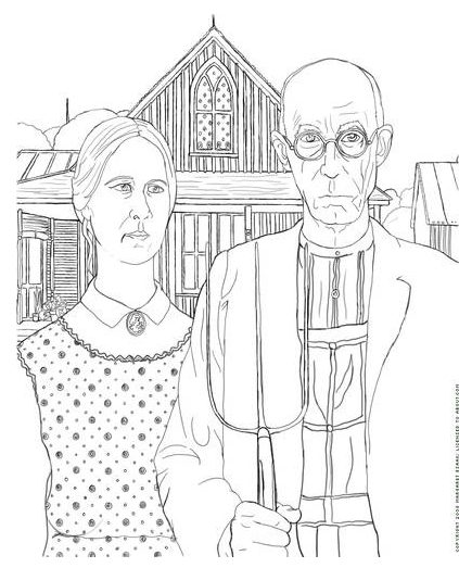 Art Coloring Pages  Lessons  Tes Teach