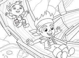 Jake and the Neverland Pirates FREE Coloring Pages - Debt ...  Jake and the Ne...