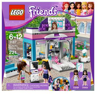 LEGO Beauty shop