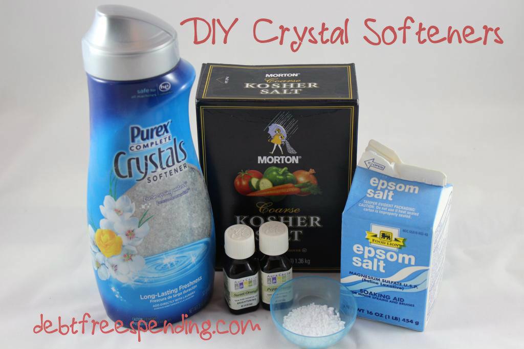 Diy Crystal Softeners