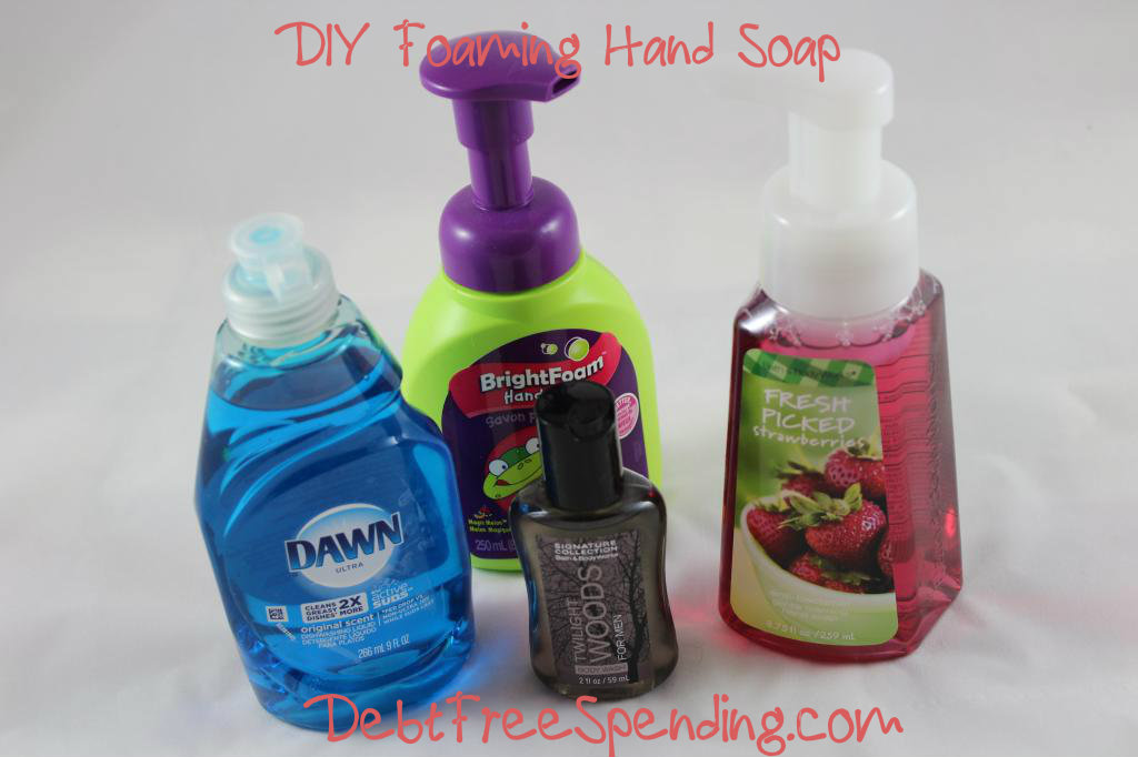 DIY Foaming Hand Soap + Bath & Body Works!