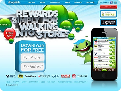 Shopkick: Earn Gift Cards While You Shop!