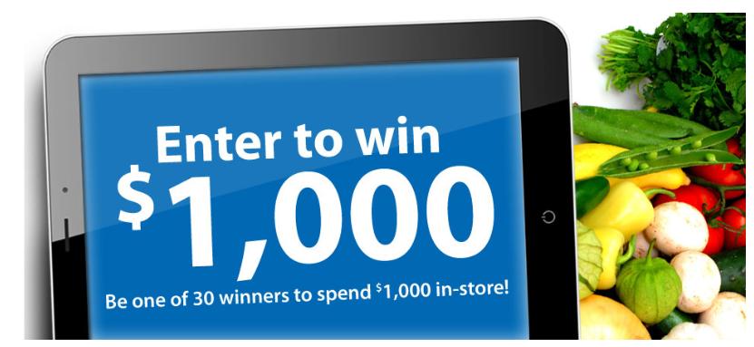 how to win 1000 dollars online