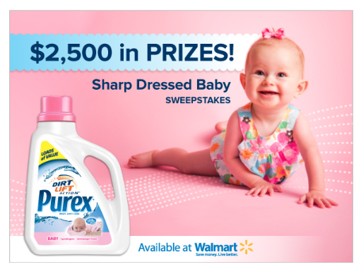 Purex: Sharp Dressed Baby Sweepstakes