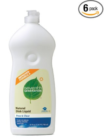Seventh Generation Dish Soap for $2.49 each!