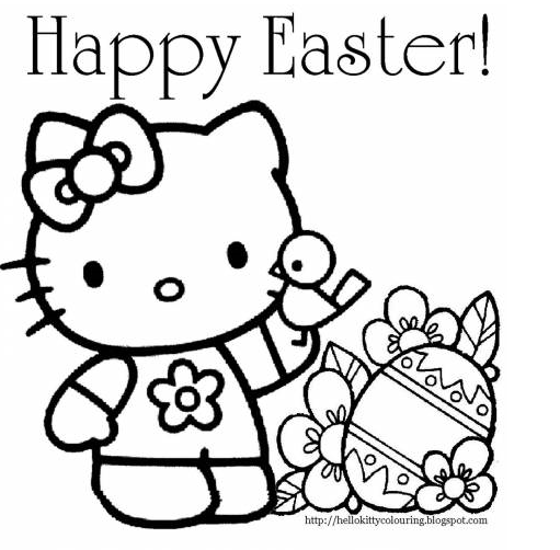 - FREE Easter Coloring Pages - Debt Free Spending