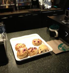 Starbucks Scone