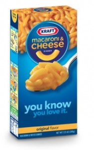 kraft-mac n cheese