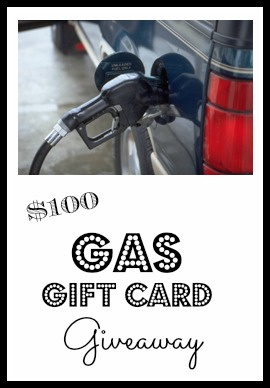 Gas Gift card giveaway