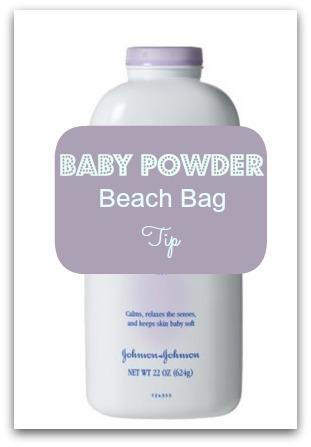 Baby Powder: Sand Trick