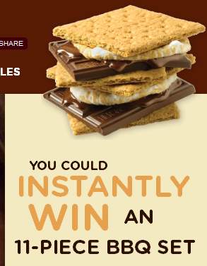 Hershey's S'Mores BBQ Grilling Set Sweepstakes!