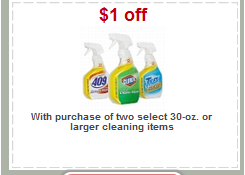 Target Cleaning Product Coupon