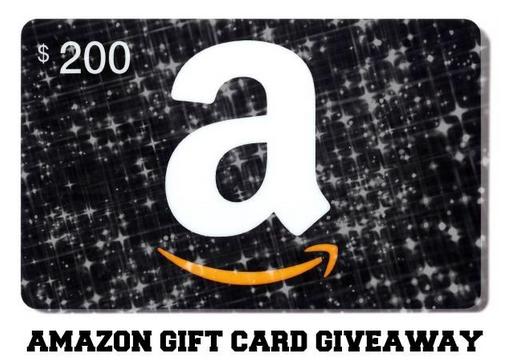 amazon 200 gift card giveaway. Black Bedroom Furniture Sets. Home Design Ideas