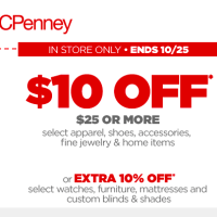 JC Penney Coupon