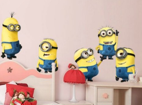 Despicable Me Minion Wall Decals for $9.65
