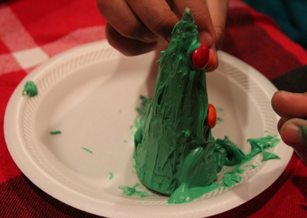 christmas tree ice cream cone craft