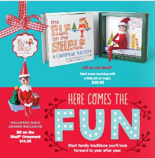 hallmark elf on the shelf coupon