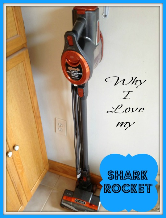 Shark Rocket Ultra Light Upright Vacuum Zooms Into Our