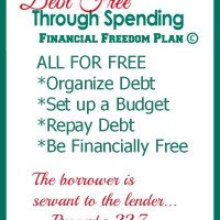 DebtFreeSpending Financial Freedom Plan