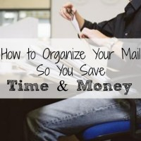 How to Organize Your Mail