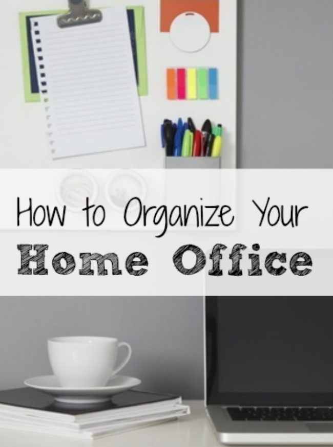 How To Organize Your Office