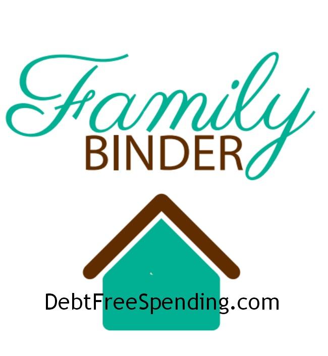 Family Binder Pinterest