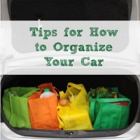 Tips for How to Organize Your Car