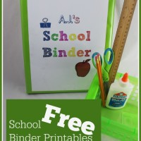 School Binder Organization + FREE Printables