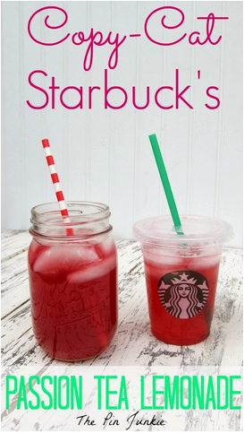 Starbucks Passion Tea Lemonde
