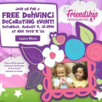 Babies R Us Breastfeeding Event and Toys R Us Craft