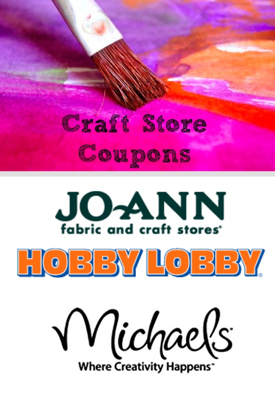 Craft Store Coupons for 11/9: Michaels Coupon, Hobby Lobby