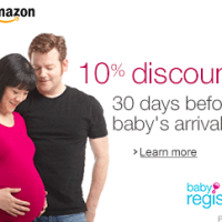 Amazon Baby Registry: Save 10% Before Baby Arrives