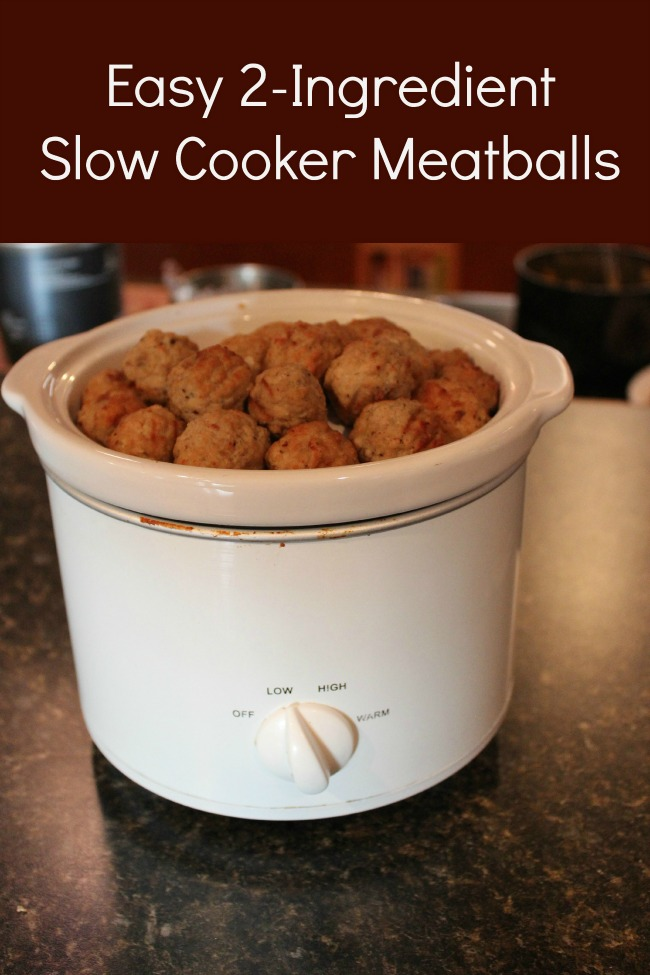 We have some super easy 2-Ingredient Slow Cooker Meatball recipes for ...