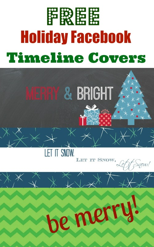 FREE Holiday Facebook Timeline Covers - Debt Free Spending