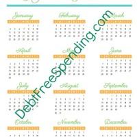 FREE 2015 Calendar, Planner & Binder Printables