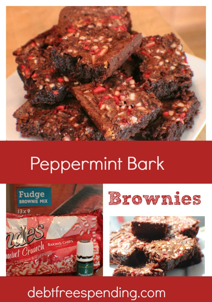 These Peppermint Bark Brownies are so yummy and easy to make! If you ...