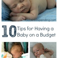 Tips For Having a Baby on a Budget