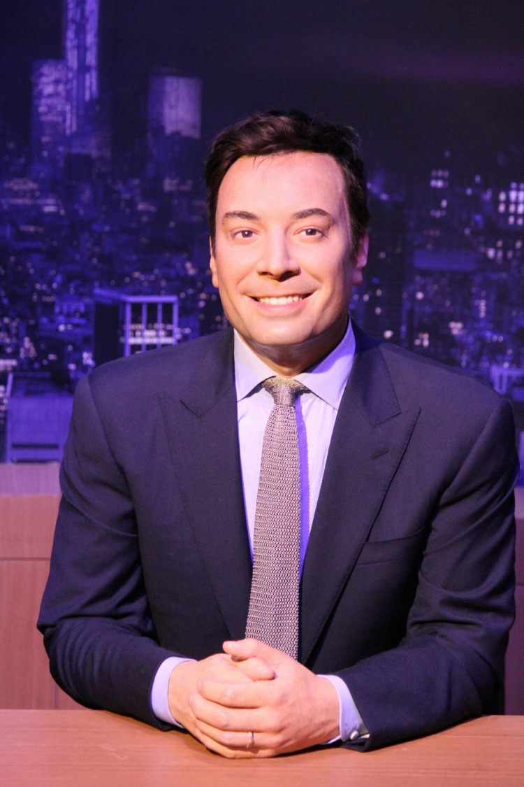 Madame Tussauds Jimmy Fallon